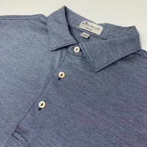 Peter Millar Crown Ease Short Sleeve Striped Polo